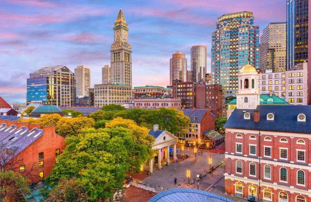 One of the best East Coast getaways is Boston.