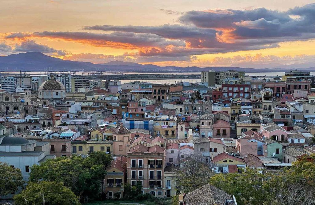 Cagliari has been coined one of the prettiest cities in Italy.