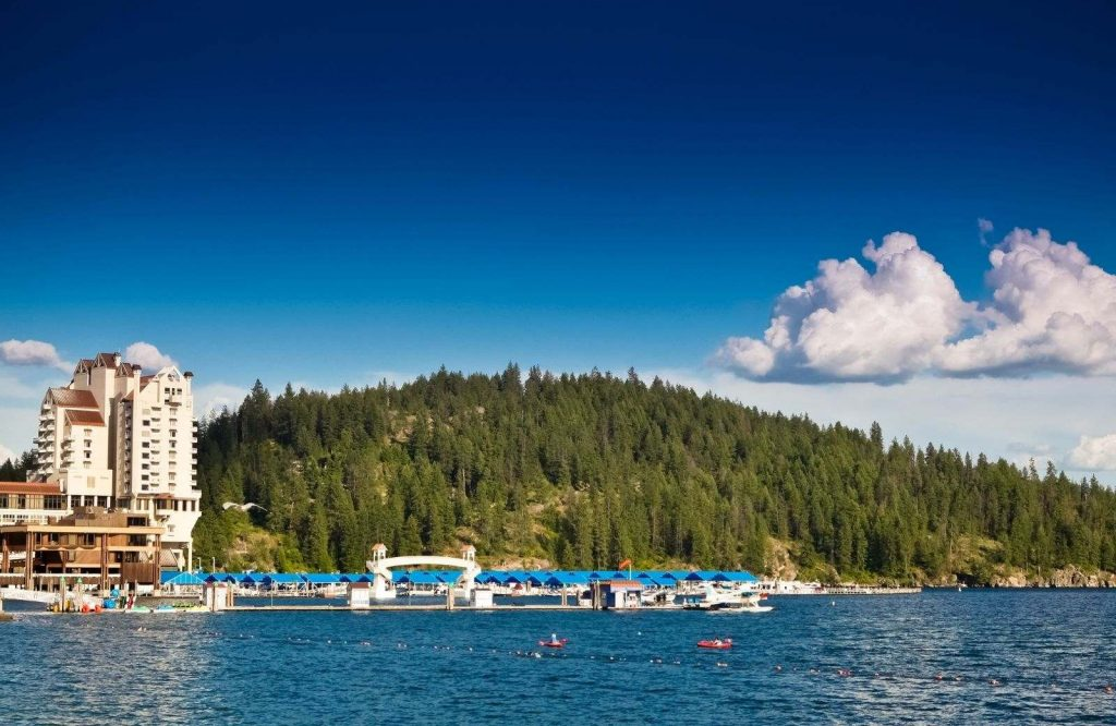 Coeur d'Alene is one of several underrated destinations in the USA.