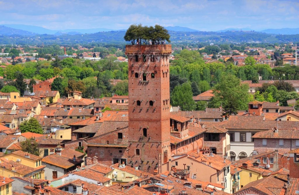 One of the prettiest cities in Italy is Lucca.
