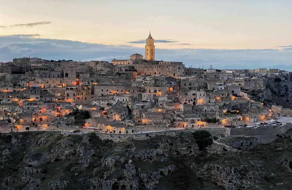 Matera is one of the prettiest cities in Italy.
