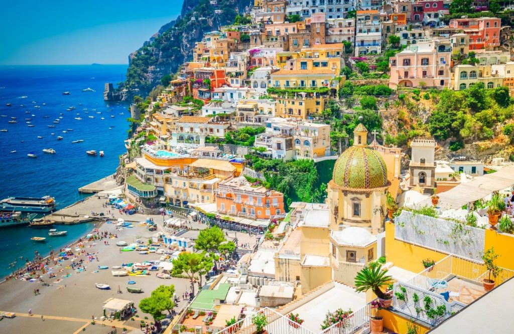 Positano is hands down one of the prettiest cities in Italy.