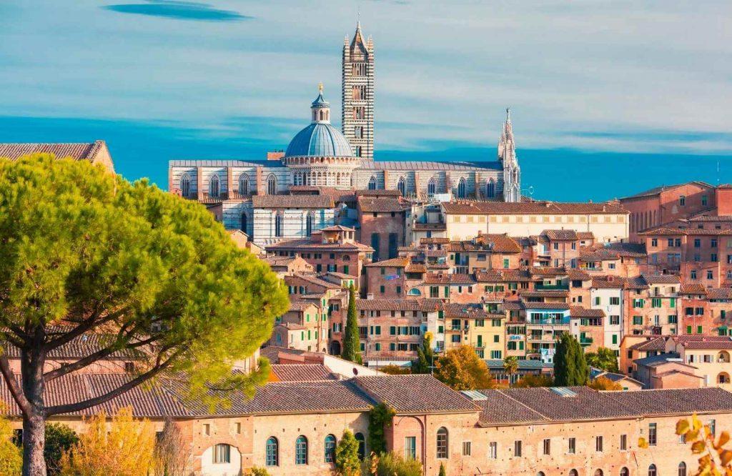 Siena is definitely one of the prettiest cities in Italy.