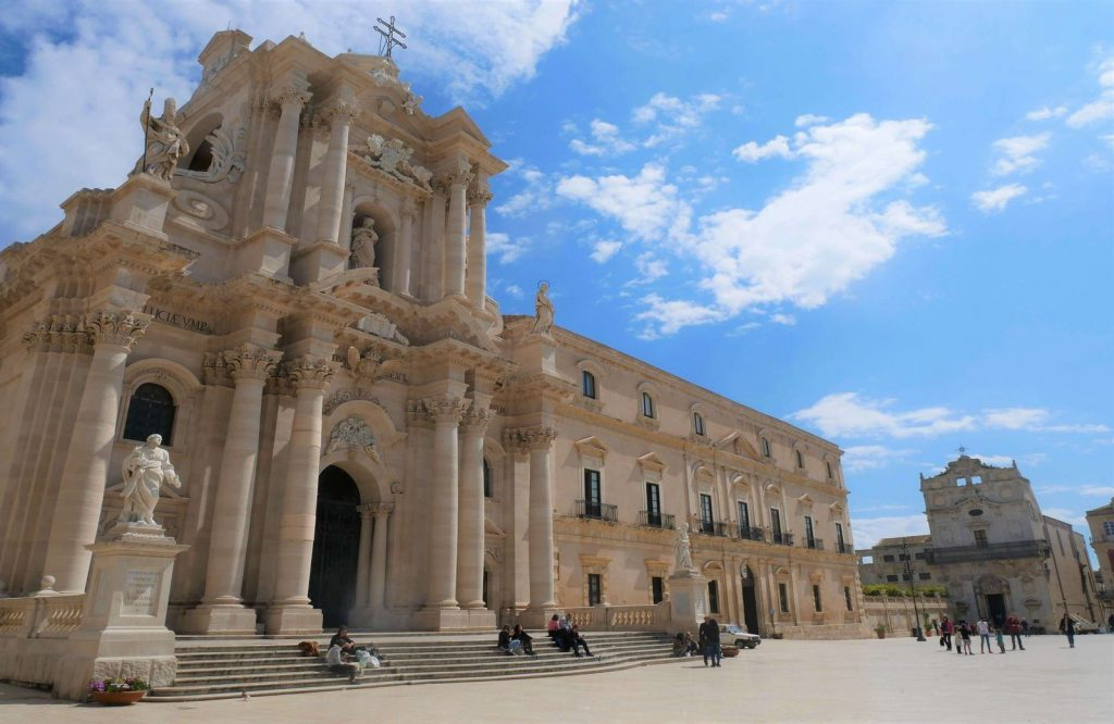 Siracusa is one of the prettiest cities in Italy.