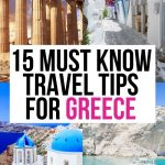 15 Important Things to Know Before Traveling to Greece