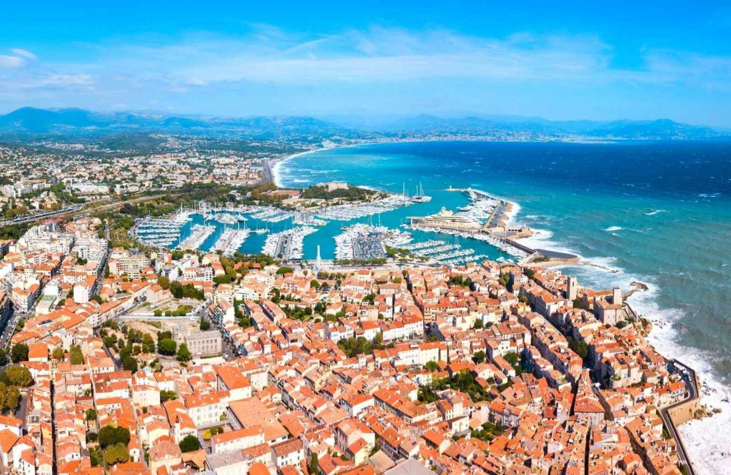 One of the best beach towns in France is Antibes.