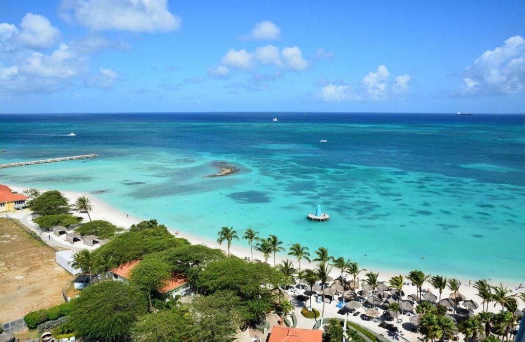Aruba is one of the best honeymoon destinations in the Caribbean.