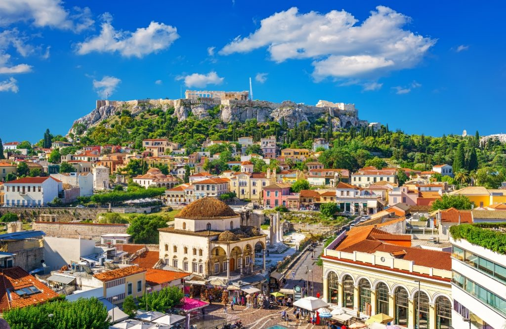 Athens is one of the best cities to visit in Europe.