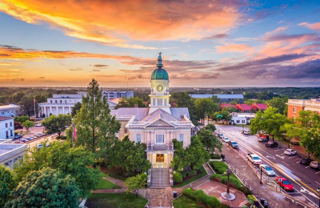 One of the best towns to visit in Georgia is Athens.