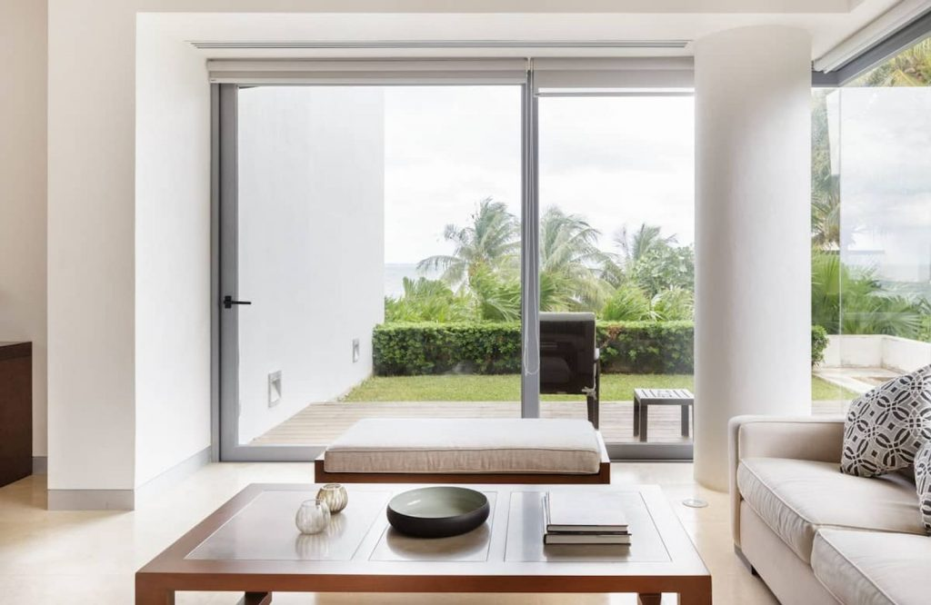 This beachfront condo is one of the best Airbnbs in Cancun.