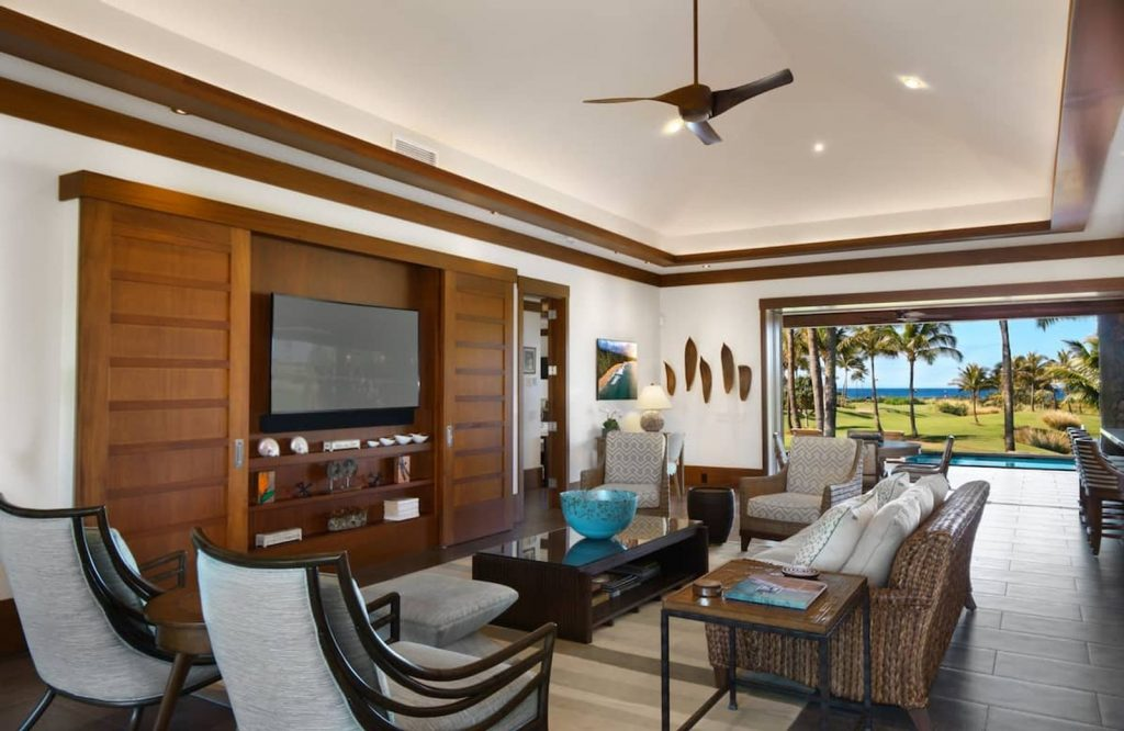 Kukui'ula Club Villa is one of the best Airbnbs in Hawaii.