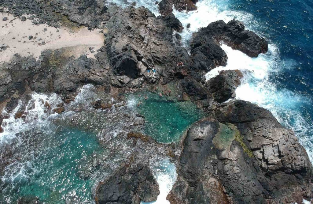 Conchi Natural Pool is one of many fun things to do in Aruba.