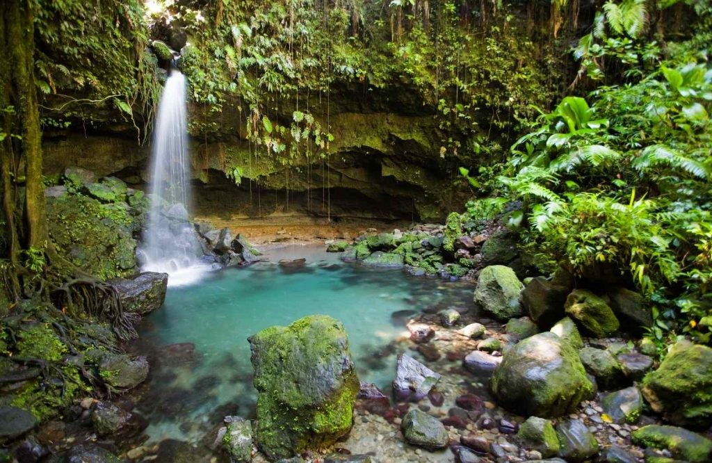 Dominica is underrated and one of the best honeymoon destinations in the Caribbean.