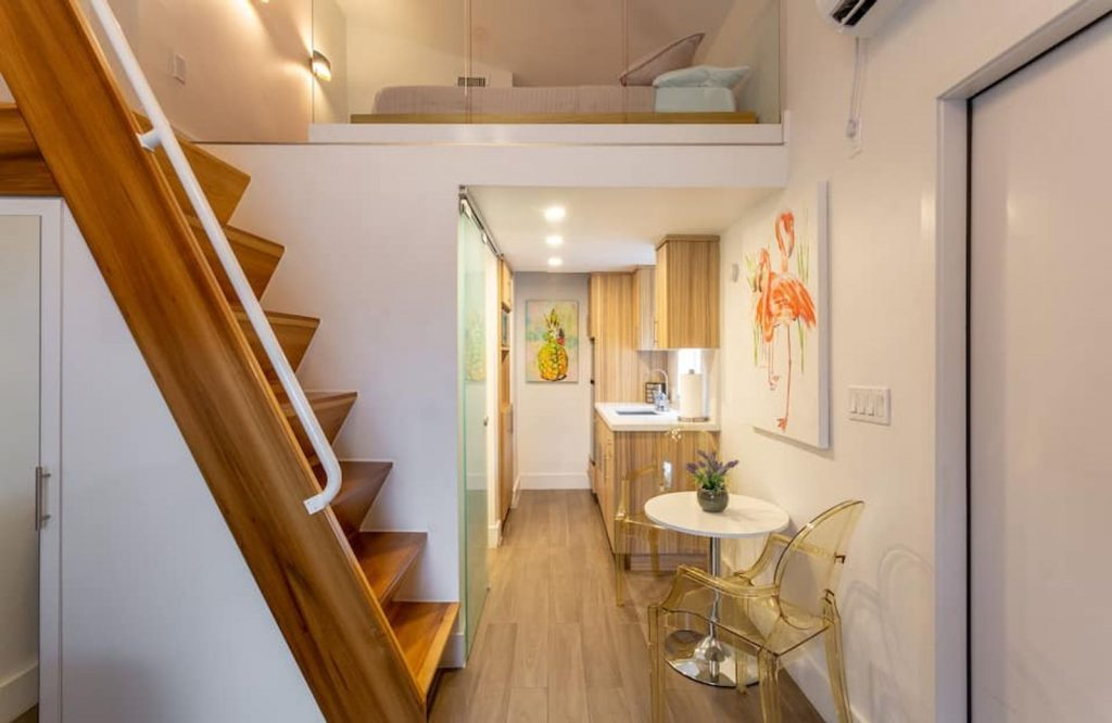 One of the best Airbnbs in Miami is this cozy loft.