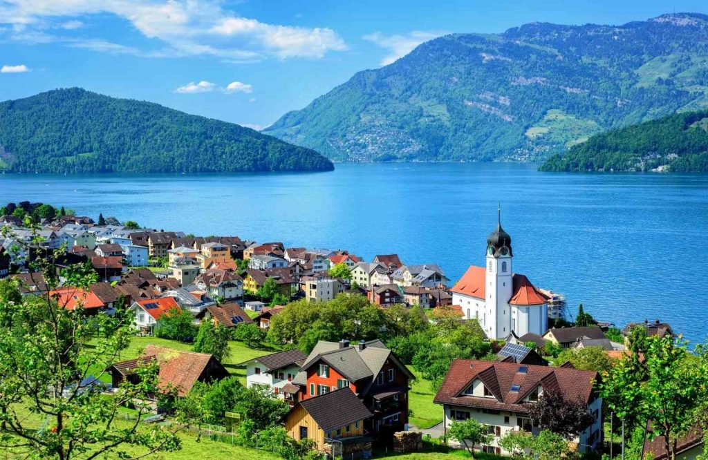 One of the best cities to visit in Europe is Lucerne.