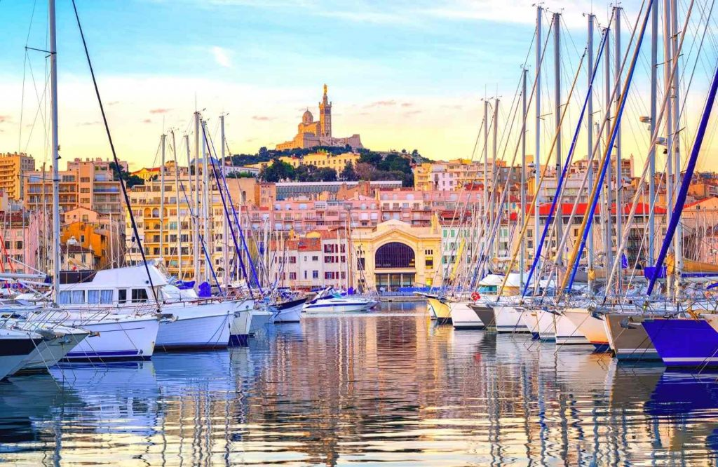 Marseille is one of the best beach towns in France.