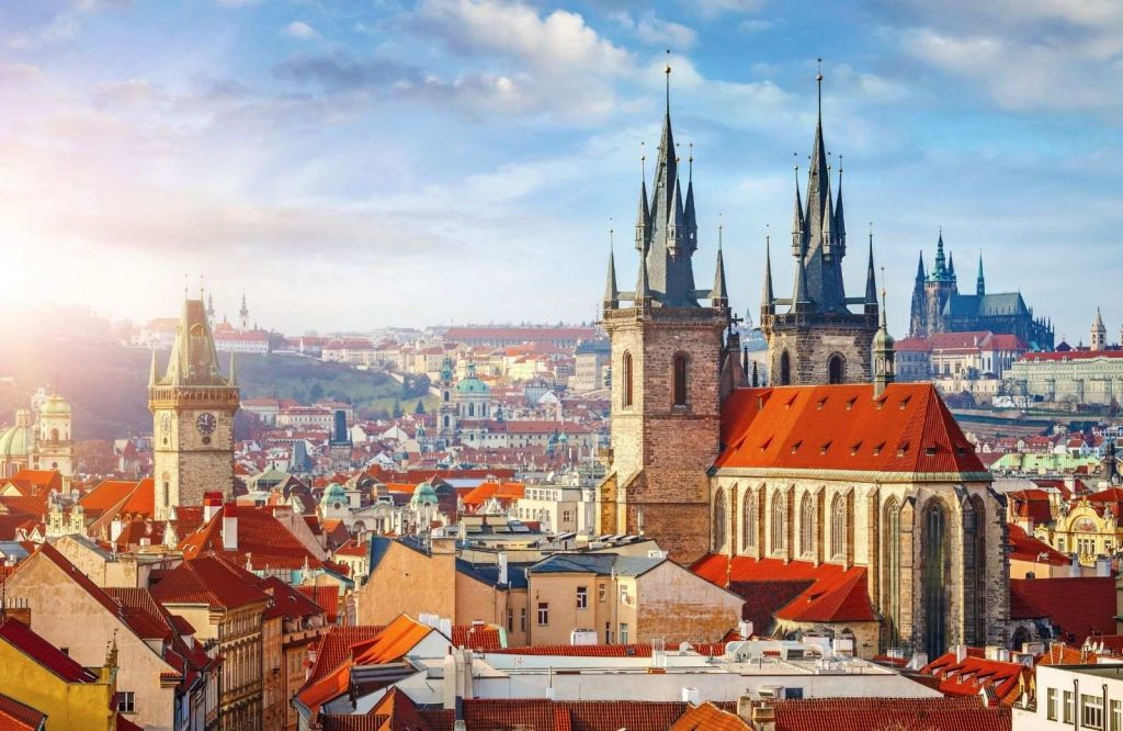 One of the best cities to visit in Europe is Prague.