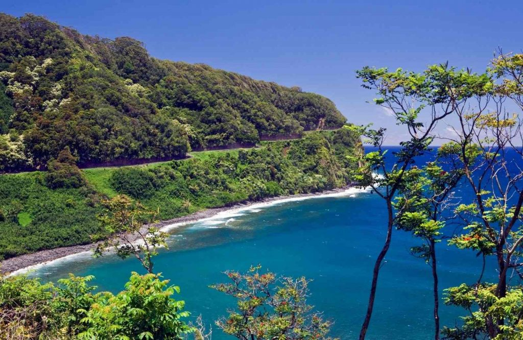 Another USA bucket list worthy activity is doing the Road to Hana road trip.