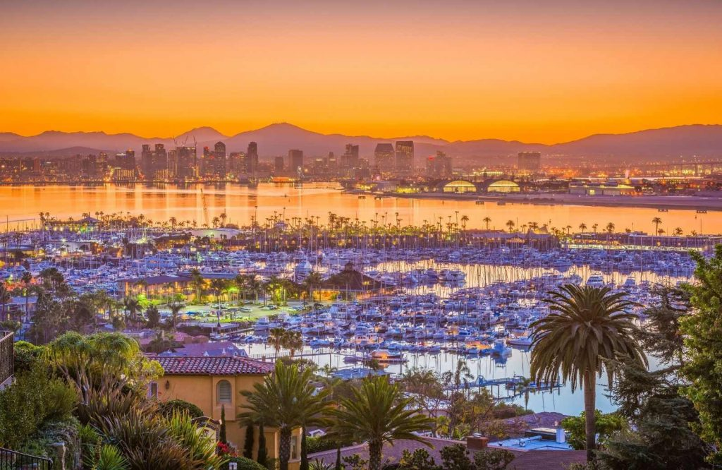 One of the best getaways on the West Coast is San Diego.