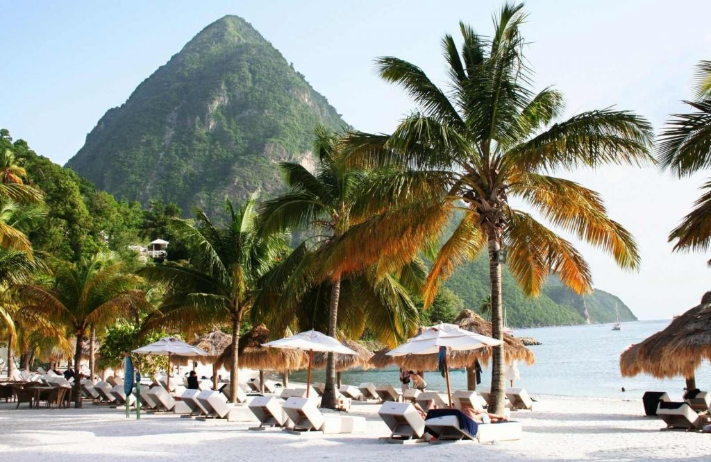 St. Lucia is one of the best honeymoon destinations in the Caribbean.