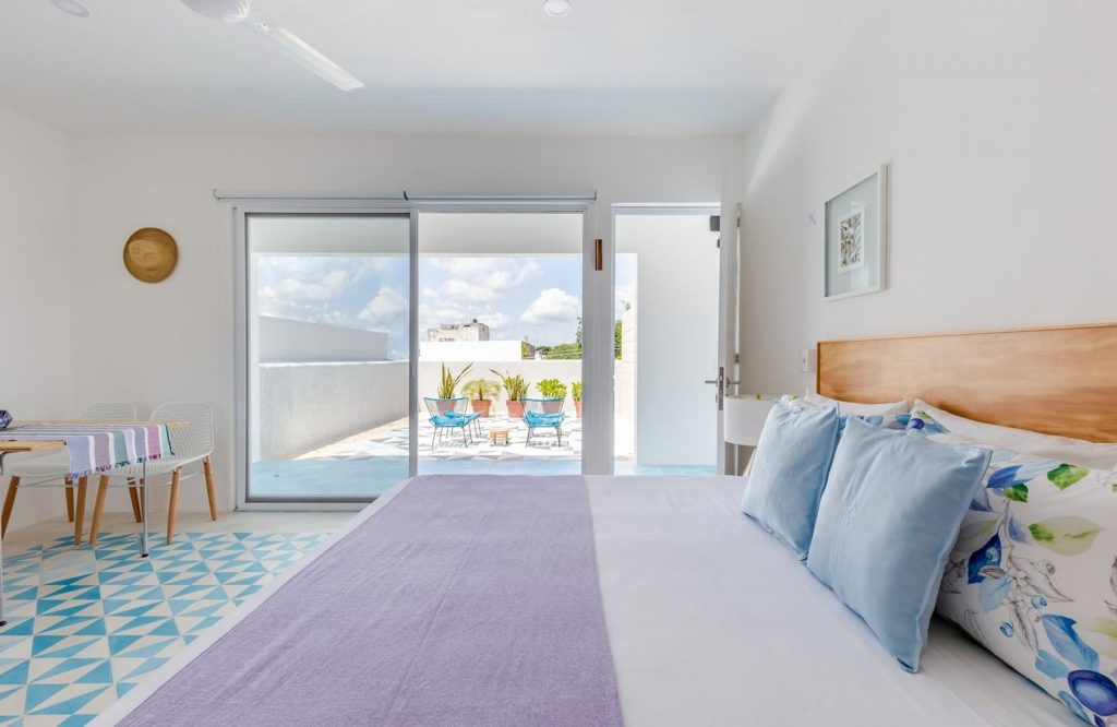 There are several stunning Airbnbs in Cancun.