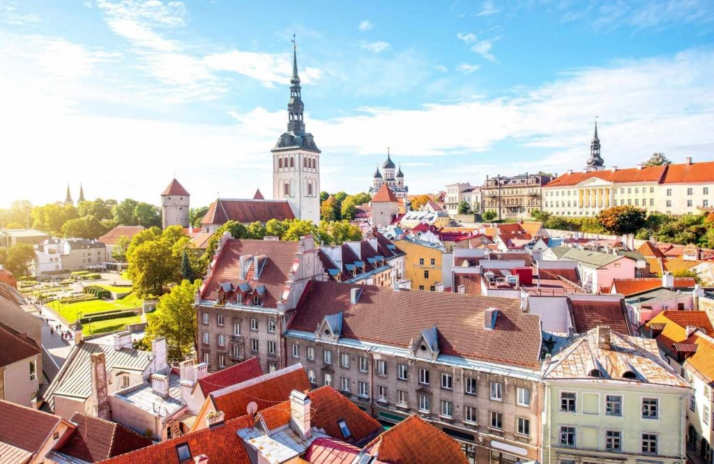One of the best cities to visit in Europe is Tallinn.