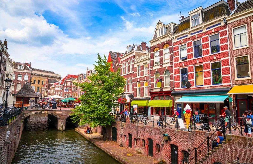One of the best cities to visit in Europe is Utrecht.