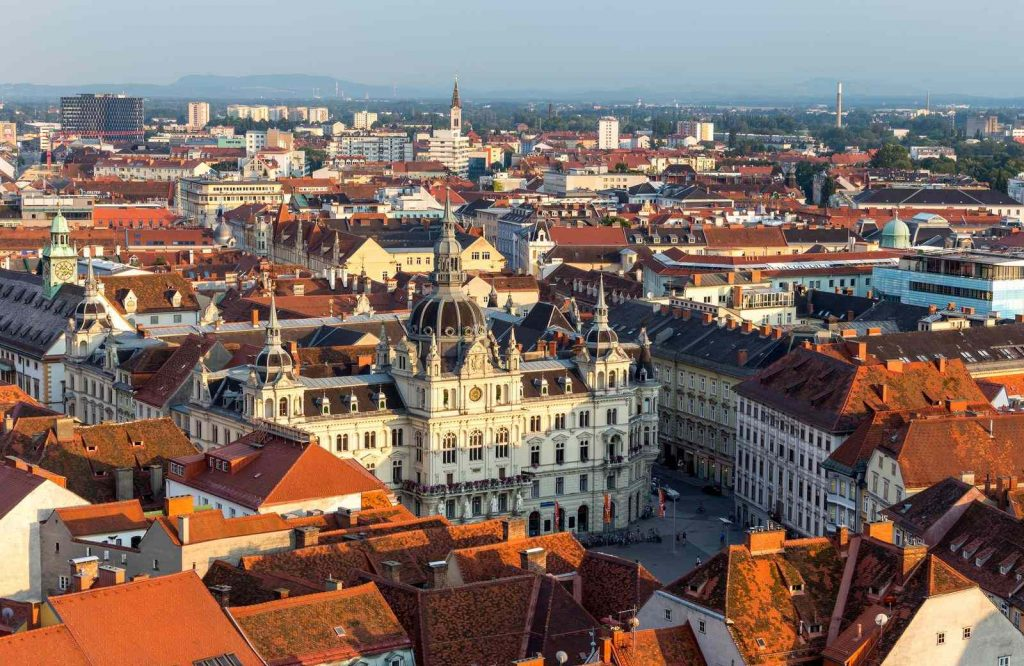 One of the prettiest and underrated cities in Europe is Graz.