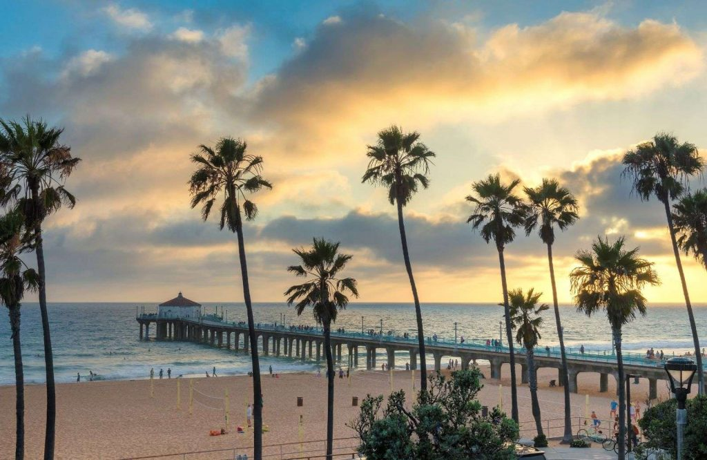 Malibu is one of many fun beach towns in California.