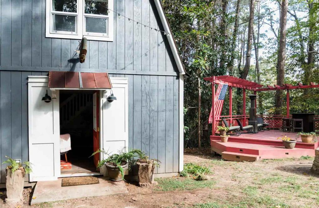 This modern barn house is one of the most adorable Airbnbs in Atlanta.