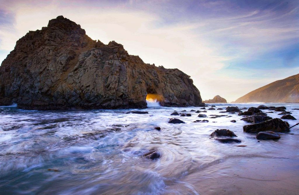 Pfeiffer Beach is one of the prettiest and best beaches in the USA.