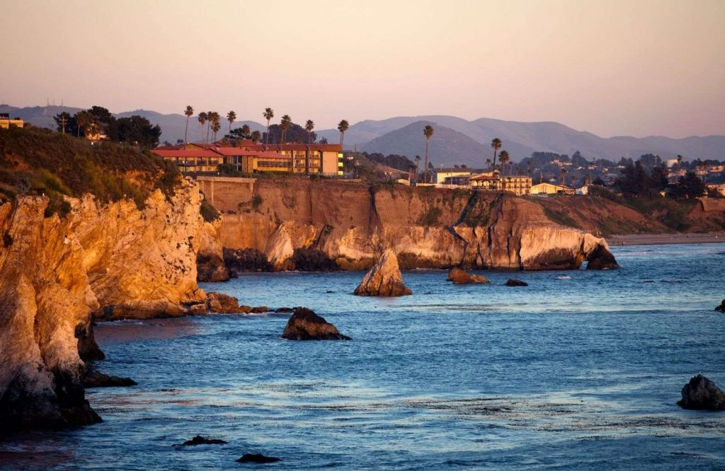 Pismo Beach is one of several beach towns in California.
