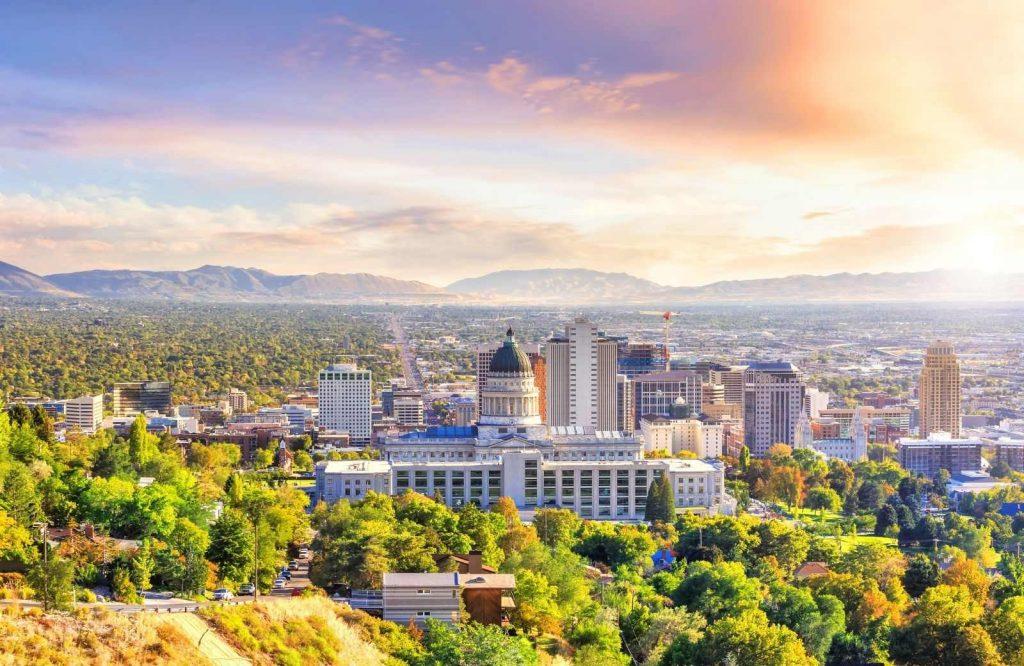 Salt Lake City, the capital of Utah, is one of the best places to visit in Utah.