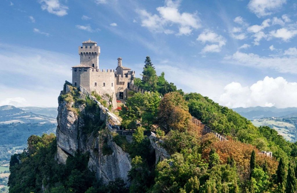 One of the most unique and underrated cities in Europe is San Marino.