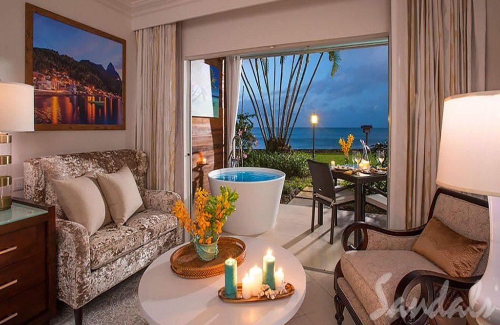 Sandals Regency La Toc is a great St. Lucia honeymoon all inclusive.