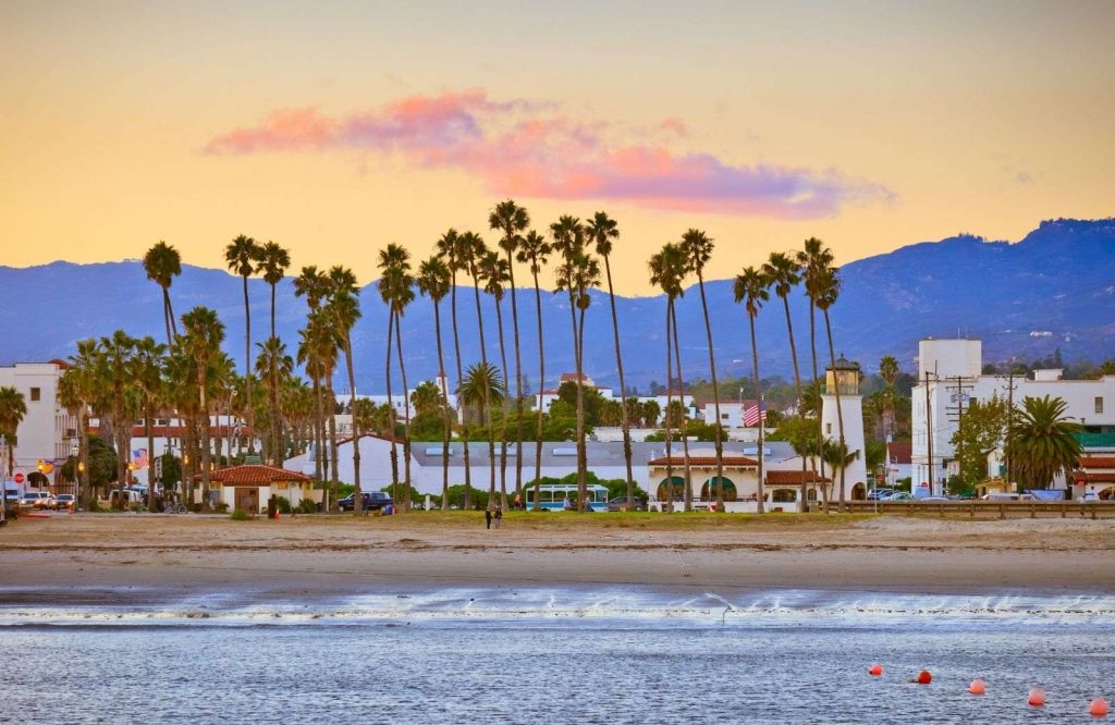 Santa Barbara is one of the best beach towns in California.