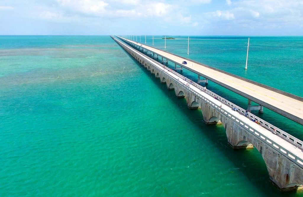 Seven Mile Bridge is the most iconic thing to see on your Miami to Key West drive.