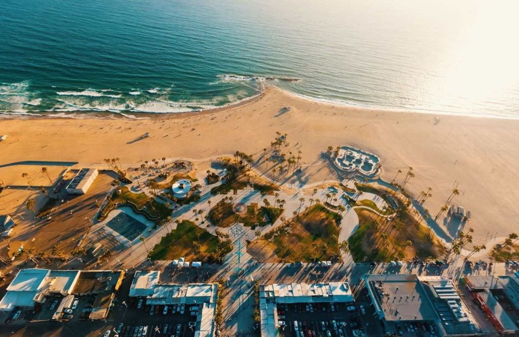 If you're looking for fun beach towns in California, visit Venice Beach.