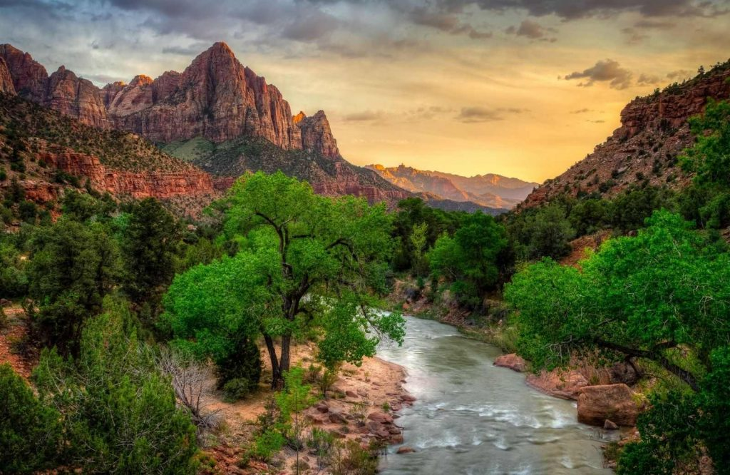 Add Zion National Park to your list of the best places to visit in Utah.