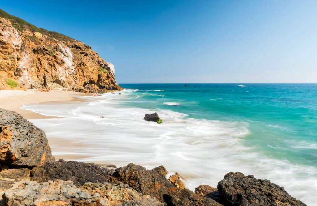 Zuma Beach is one of the best beaches in the USA.
