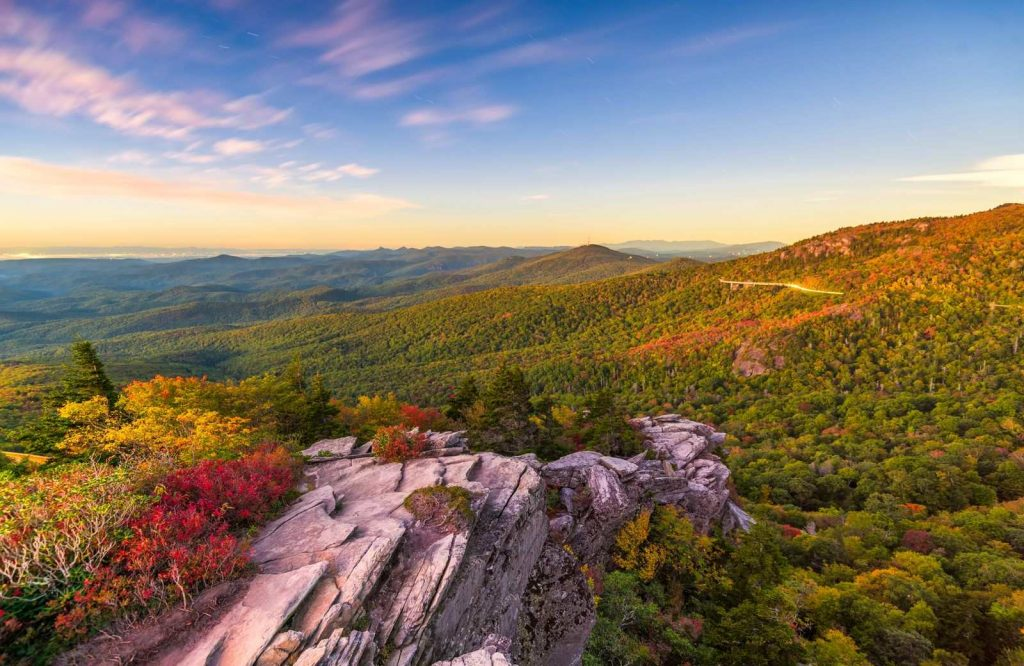 The Appalachian National Scenic Trail is considered one of the coolest national parks on the East Coast.