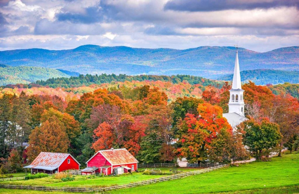 Fall is one of the best times to do a Vermont road trip.