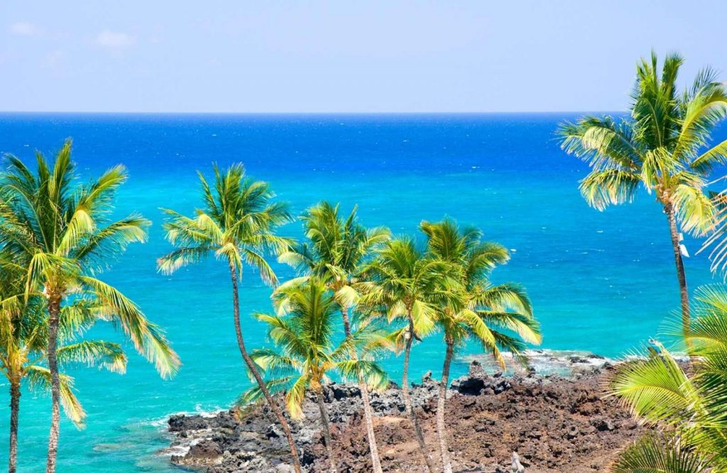 One of the most gorgeous islands in the USA is the Big Island.