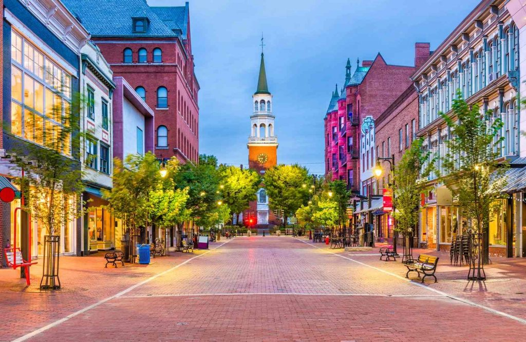Burlington is a great place to stop on your Vermont road trip.