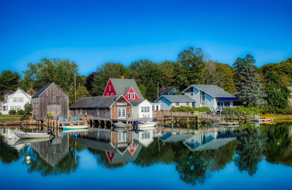 One of the most amazing romantic getaways in New England is Kennebunkport, Maine.