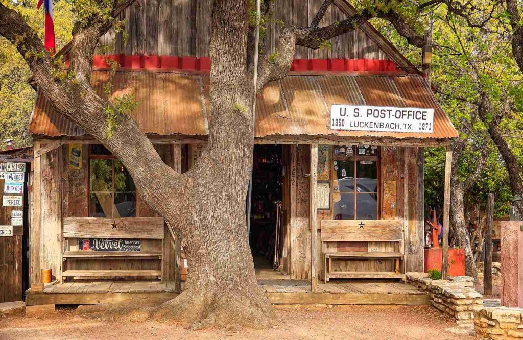 One of the most interesting day trips from Dallas is Luckenbach.
