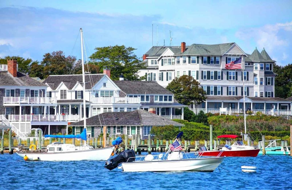 Martha's Vineyard is one of several romantic getaways in New England.