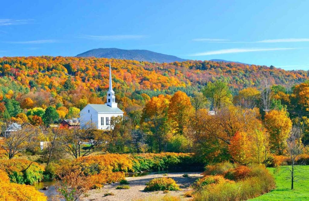An iconic stop on your Vermont road trip is Stowe.