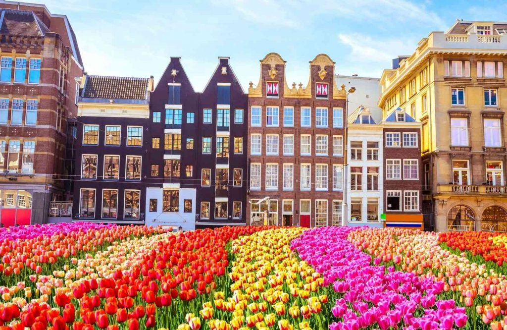 Amsterdam is one of several romantic cities in Europe.