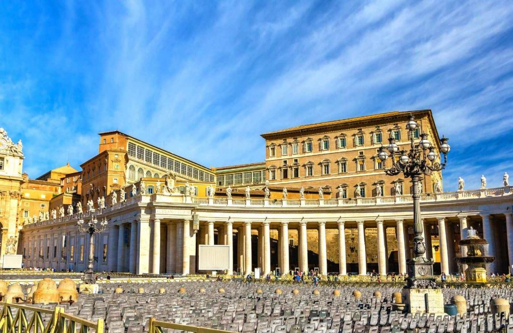 Check out where the Pope lives when visiting the Vatican.